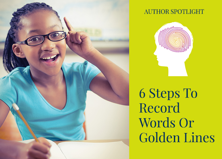 6 Steps to Record Words or Golden Lines in a Vocabulary Notebook