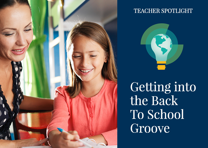 Getting into the Back-to-School Groove