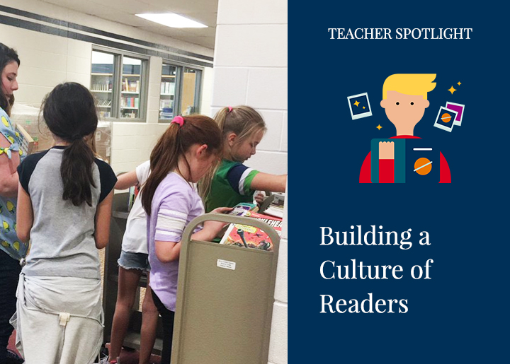 Liz Janusz blogs on Building a Culture of Readers