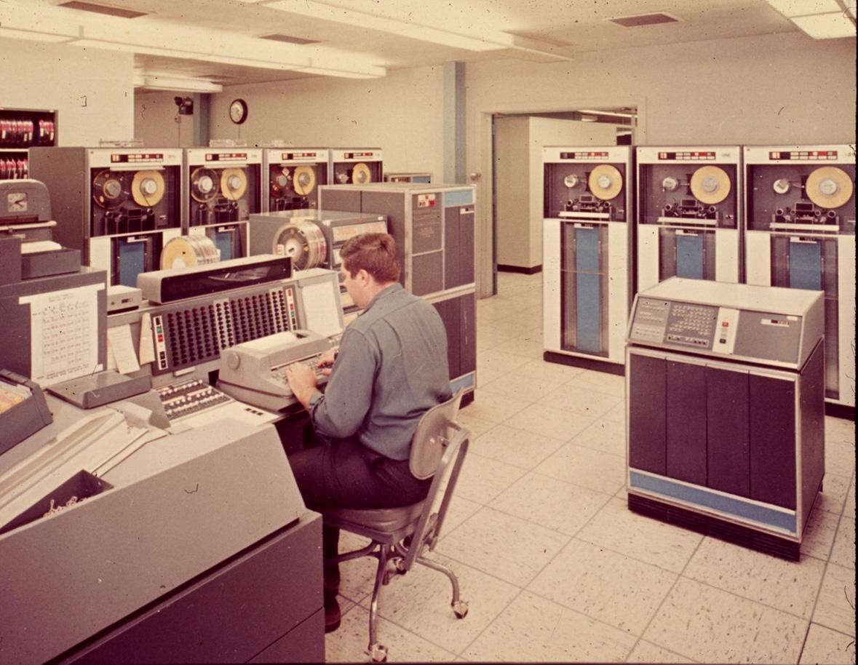 IBM 7030 operator console