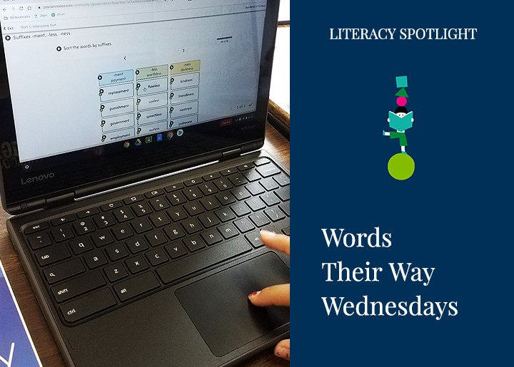 Words Their Way Wednesday - Digital Sorts with Words Their Way Classroom