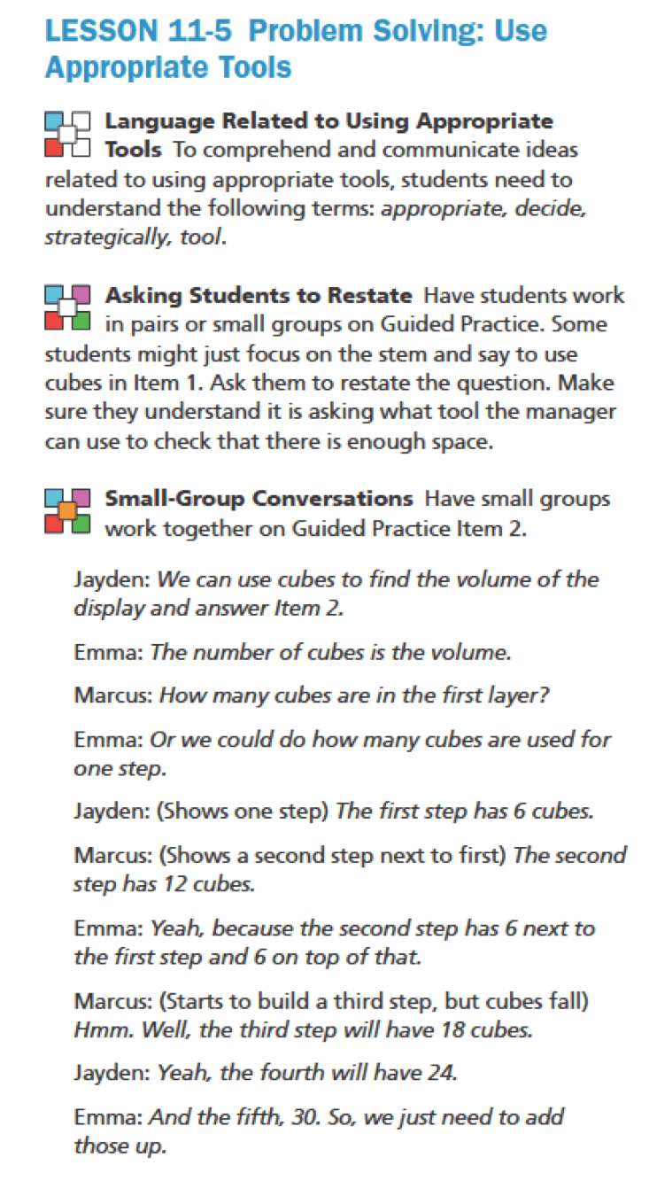 English Language Learner Resources - enVision Mathematics